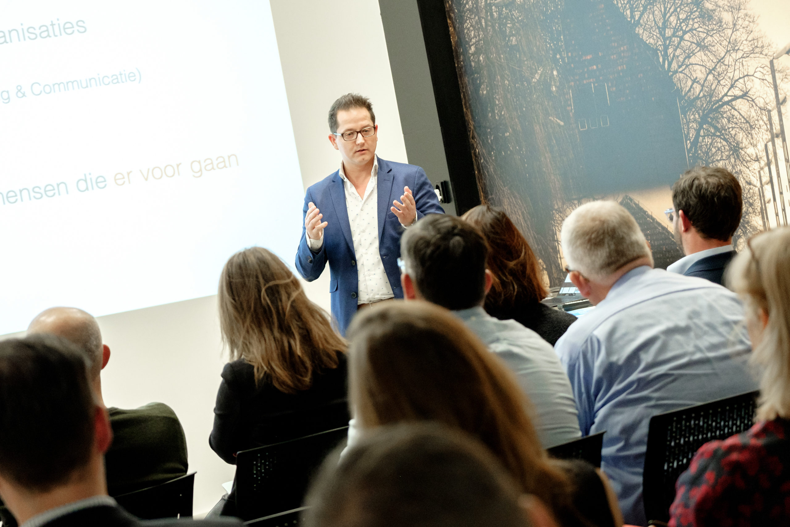 presentatie, het Identiteitsbedrijf