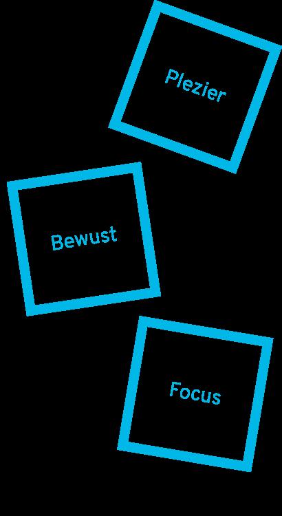Kernwaarden-plezier-bewust-focus